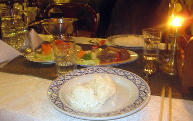 Ravut ja chilihärkä