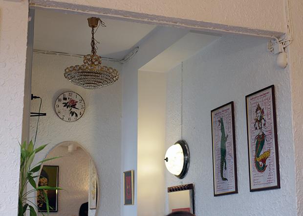 Kuvia seinillä