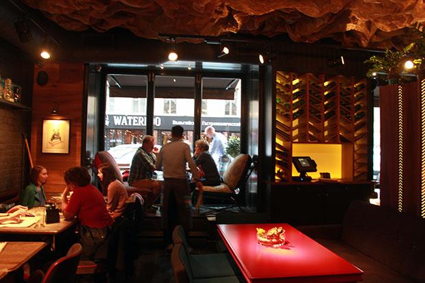 Geografiya on trendikäs ruokaravintola trendikkäällä Rubinstheinalla.